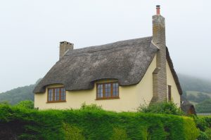 A lovely cob house near Axmouth in Devonshire.